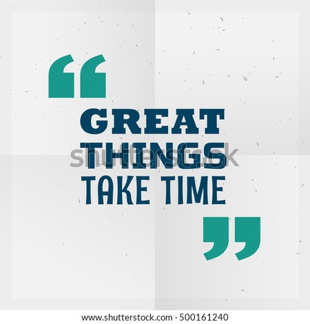 Coisas tempo motivacional escrito Foto stock © SArts