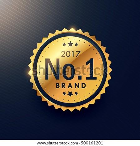 Legelső márka arany prémium luxus címke Stock fotó © SArts