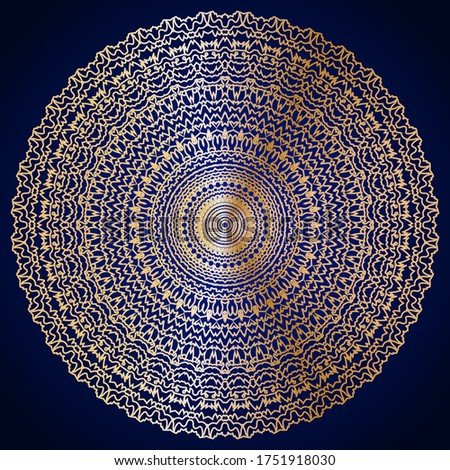 Premie mandala ontwerp schitteren effect kunst Stockfoto © SArts