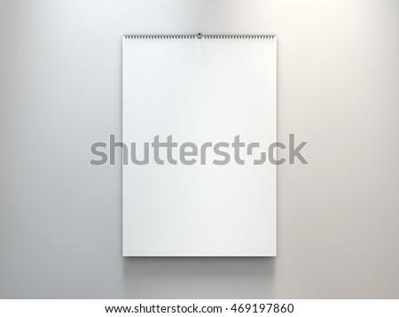 дизайна календаря шаблон серый мягкой Тени Сток-фото © user_11870380