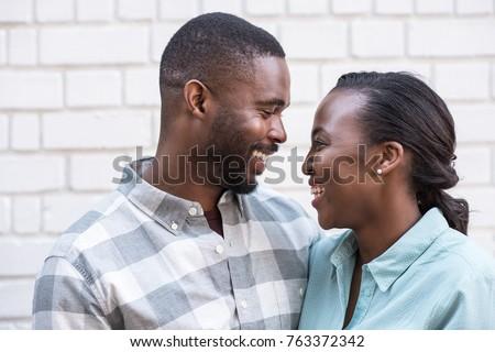 романтические пару глядя другой Постоянный балкона Сток-фото © wavebreak_media