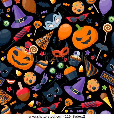 Foto stock: Halloween · bolinhos · bolinhos · terrível · férias