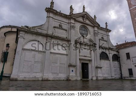 Церкви Венеция Италия синий путешествия Сток-фото © Virgin