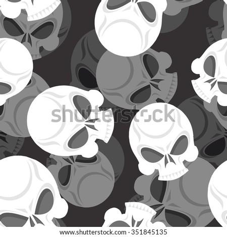 Crâne tête 3D mort ornement Photo stock © popaukropa