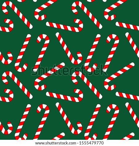Choinka christmas miętowy lizak bezszwowy Zdjęcia stock © popaukropa