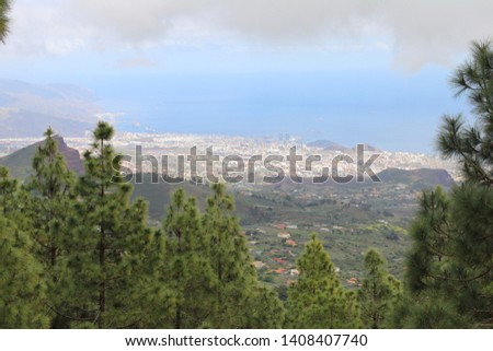 view from the height of the city of santa cruz de tenerife on th stock photo © vlad_star