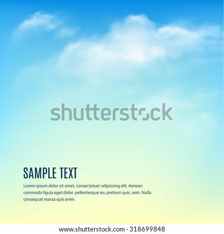 luz · solar · blue · sky · vetor · primavera · fundo - foto stock © articular