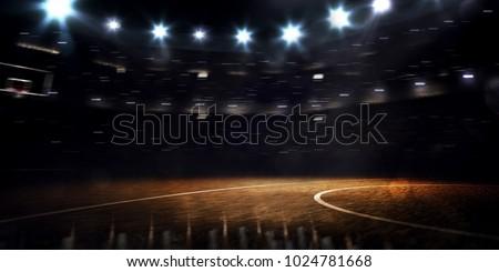 баскетбольная площадка пусто спортивных игры баскетбол мнение Сток-фото © artjazz