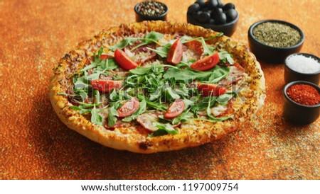 étterem · asztal · mediterrán · gyógynövények · kő · hotel - stock fotó © dash