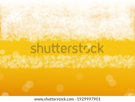 Oktoberfest Banner Illustration with Fresh Lager Beer in Typography Lettering on Shiny Blue Backgrou Stock photo © articular