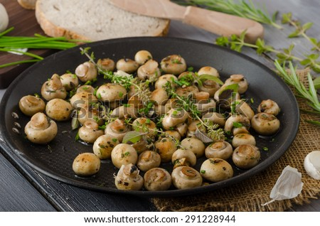 Maison bio salade laitue champignons Photo stock © Peteer