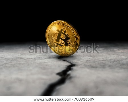 Bitcoin hard fork split to Bitcoin Cash blockchain cryptocurrenc Stock photo © SwillSkill