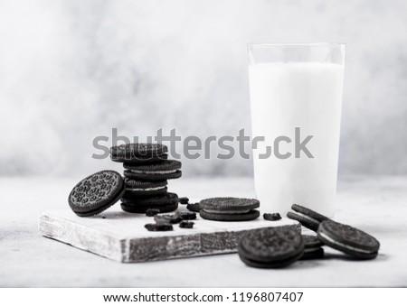 sanduíche · dois · doce · bolo · doce · sobremesa - foto stock © denismart
