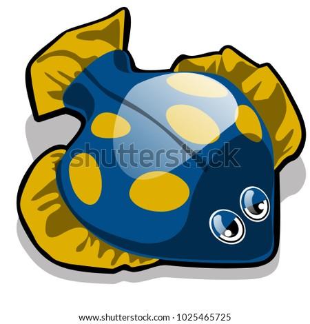 Brinquedo forma peixe isolado branco vetor Foto stock © Lady-Luck