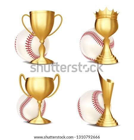 Baseball gioco premio vettore palla Foto d'archivio © pikepicture