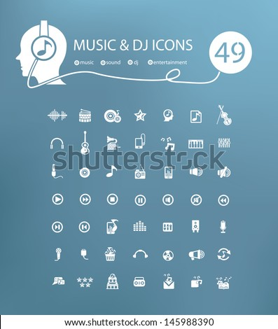 マイク セット ベクトル 音響機器 音楽 アイコン ストックフォト © pikepicture