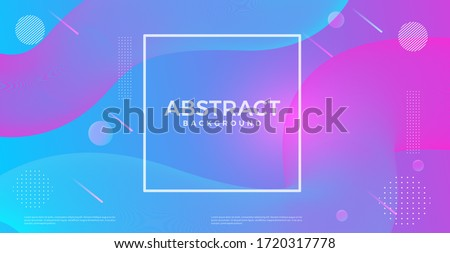 Abstract vloeibare vloeistof vector inkt vorm Stockfoto © pikepicture