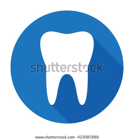 teeth icon dentist symbol. For user interface. Vector illustration isolated on white background Stock photo © kyryloff