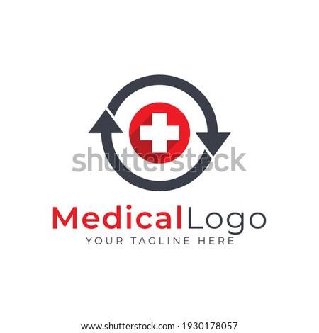Flecha infinito cruz negocios vector Foto stock © kyryloff
