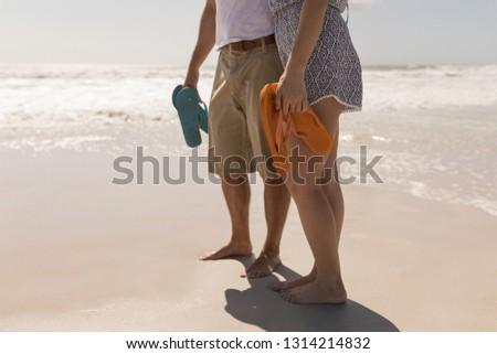 Laag jonge romantische paar Stockfoto © wavebreak_media