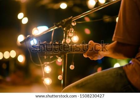 Rückansicht jungen Mann stehen rock Stock foto © wavebreak_media