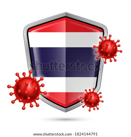 Fémes pajzs szimbólum bioveszély vírus fehér Stock fotó © ISerg