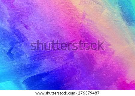 Artystyczny streszczenie tekstury różowy akryl pędzlem Zdjęcia stock © Anneleven