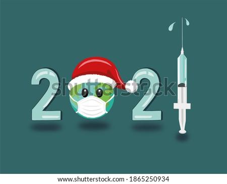Twee vaccin een Rood drop gips Stockfoto © artjazz
