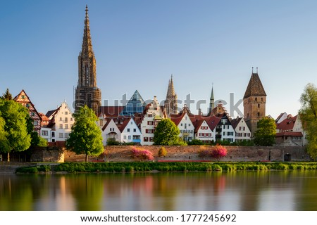 Ulm city architecture, Germany, Europe Stock photo © kyolshin