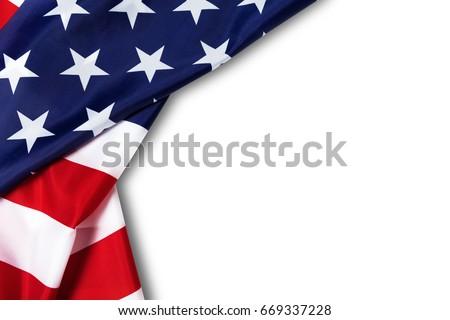 amerikan · bayrağı · bağbozumu · vektör · eps10 · doku - stok fotoğraf © pashabo