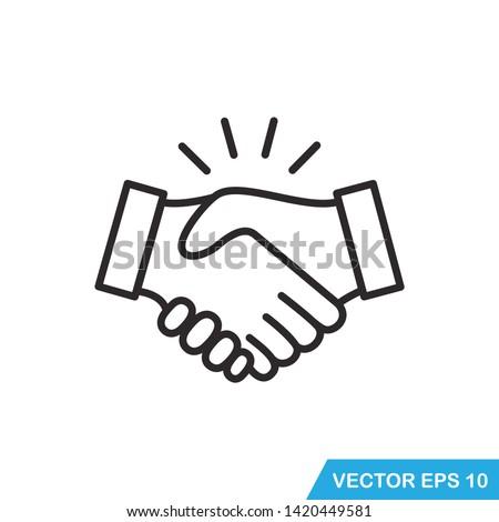 pak · zakenman · vriendelijk · handdruk · stropdas - stockfoto © zittto