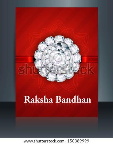 Festival broşür kırmızı renkli şablon örnek Stok fotoğraf © bharat