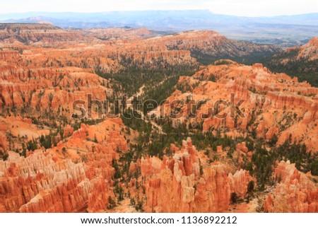 美しい 風景 峡谷 石 フォーメーション ストックフォト © meinzahn