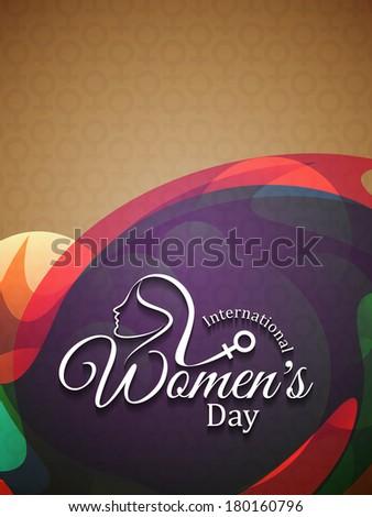 Elegante colorido cartão belo onda projeto Foto stock © bharat