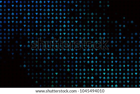 casino background with spade diamond poker element vector illustration stock photo © carodi