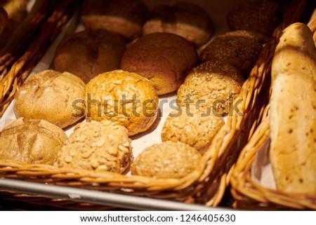 Salado panadería tienda ventana Foto stock © amok