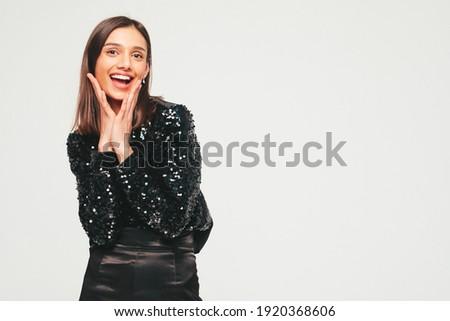 женщину · роскошь · клуба · интерьер · Sexy · моде - Сток-фото © victoria_andreas