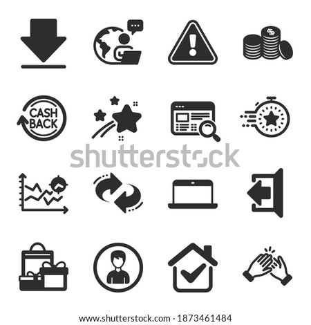 Affaires analytique illustration portable timer fusée Photo stock © kali