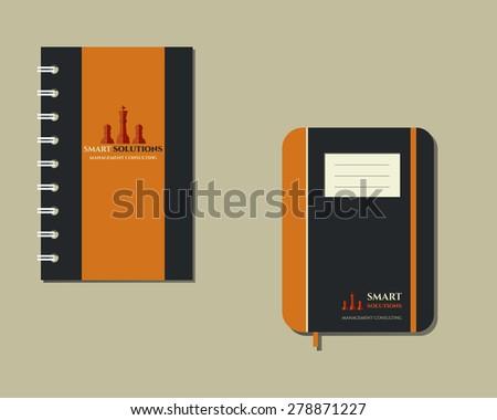 szett · okos · megoldások · logo · sablon · üzlet - stock fotó © jeksongraphics
