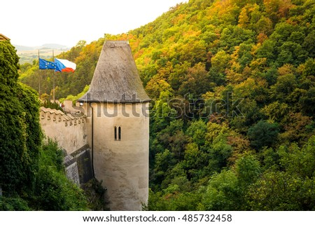 garfo · República · Checa · casa · arquitetura · fora · fachada - foto stock © kirill_m
