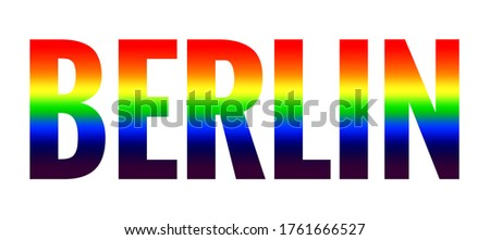 Germany and LGBT flag. Symbol of tolerant Deutschland. Gay sign  Stock photo © popaukropa