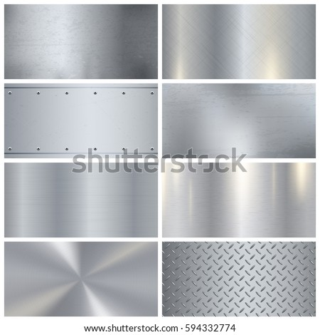 Perforated grey silver metallic background, metal texture, simple texnology illustration, circle, ro Stock photo © kurkalukas