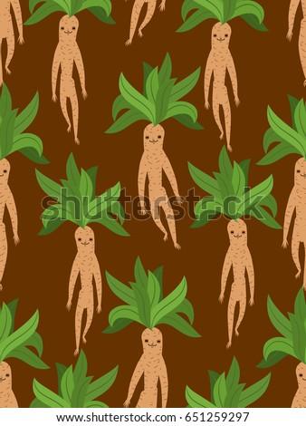 Kök efsanevi bitki form Stok fotoğraf © popaukropa