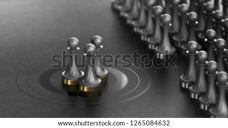 Talent Scouting, Successful Shortlisted Candidates, Recruitment  Stock photo © olivier_le_moal