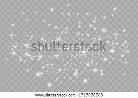 Gümüş parıltı şeffaf canlı ışıklar Stok fotoğraf © olehsvetiukha