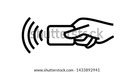 Online mobile payment with credit card icon - smartphone, shoppi Stock photo © Winner