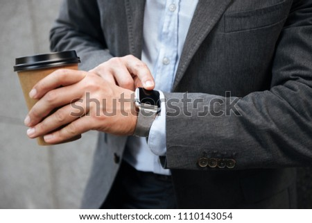 Foto europese ondernemer zakenman formeel pak Stockfoto © deandrobot