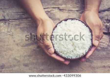 arroz · comida · restaurante · frango · jantar - foto stock © galitskaya