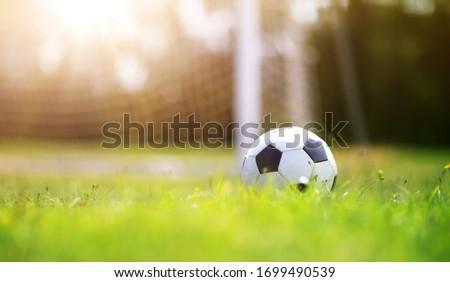 giovani · calci · soccer · ball · formazione · campo - foto d'archivio © pressmaster