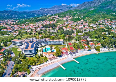 Dubrovnik região beira-mar Croácia Foto stock © xbrchx